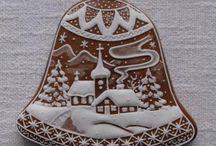 vianočné perníčky,koláče a dekorácie