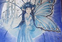 Art Hells / Fantasy paintings and fairy portraits