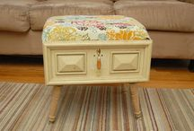Re-purposed furniture / by Diane Monte