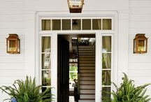 Exterior - front door porches