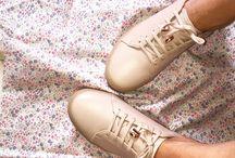Sneakers femme / Basket en cuir de qualité premium