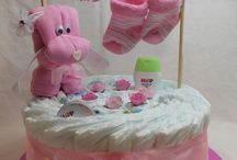 Diaper gifts / baby shower