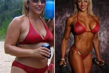 female bodybuilding before and after