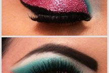 Makeup LookBoard Colorful  / Bright Eyes Inspired Makeups