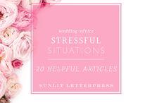 Wedding Advice | Sunlit Letterpress