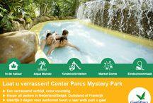 Center Parcs Mystery Park / Verrassende lage prijzen bij Center Parcs. Boek een Mystery Park en laat je verrassen. Kies uit de volgende bestemmingen: NL/BE, DU of FR. Vlak voor vertrek hoor je naar welke vakantiepark je gaat. Unieke prijzen via BungalowS.nl