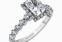 Wedding | The ring / wedding ring ideas, sparkle, diamonds
