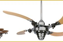Ceiling fans / One of a kind ceiling fans, that match the room decor in a manner you never thought possible