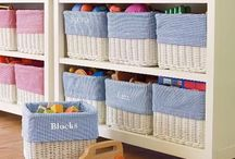 Storage for kids room