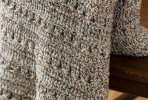 colchas y pieceras crochet