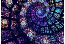 Stained glasses/Mosaic / by Roseli Viziolli