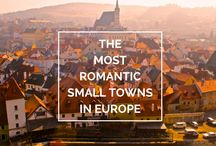 Exciting & Romantic Places / Secret corners, romantic cafes, stunning buildings, great views.