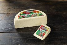 Caribbean Dream Cheese by Windyridge Cheese Ltd / Wensleydale Cheese with Tropical Pineapple, Coconut and a Twist of Rum
