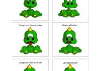Mundmotorik / Übungen zur Kräftigung und Koordination der Lippen- und Zungenmuskulatur   Logopädie