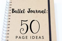 LIFE * Bullet Journaling / Organize your home, calendar, schedule, budget, and brain while keeping track of favorite movies, goal progress, and meal planning ALL IN ONE PLACE...your bullet journal.
