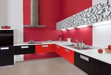 Cheerful Kitchens To Inspire Your Day! / Fun and Inspiring Colorful Kitchens