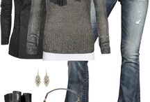 GREY bag's outfit