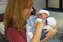 Ignacio bebe