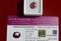 4.527 Carat Lab Certified Ruby