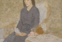 Gwen John / The art of Gwen John. I love how subtle she is with color and the texture,  oh my...