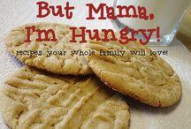 But Mama, I'm Hungry!  My recipe blog / by Kim Hilder