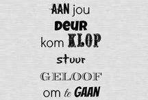kaalvoet Afrikaans
