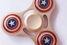Captain America Fidget Spinners
