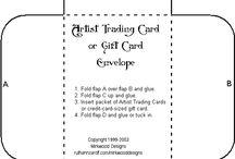 Artist Trading Cards - ATC's / by Jessica Vanderloo