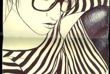 creación de dibujo / Dibujos, croquis, temas que me inspiran para crear algo