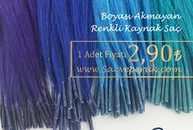 Renki Kaynak Saçlar