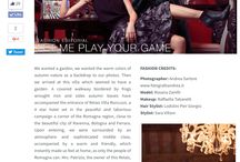 Shooting Editorial / Magazine