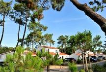 Longeville sur Mer - Résidence Le Domaine des Oyats / Située à 700 m de la plage, Le Domaine des Oyats vous propose des maisonnettes jumelées avec piscine privative pour certaines. Détente dans cette résidence