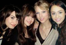 Demi  Taylor  Selena Hannah