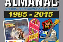 'Back to the Future Almanac: 1985-2015' / Back to the Future Almanac 1985-2015 represents a 30 year devotion to archiving materials from the BTTF franchise, through the promotional materials and products created to support the BTTF films to the fantastic comics, theme park attractions and games that followed. The BTTF Almanac invites fans to time travel through decades of memorabilia, artwork, time machines and toys created for the greatest film trilogy of all time.