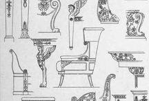 Furniture Klasicismus, Empír