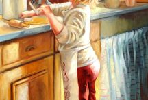 Art with CHILDREN / Art of fairy tales, children's books, playtime and cute art of children / by Carol C