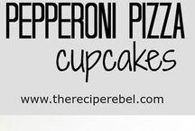 pepproni cupcakes