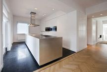 Kitchen design / Keuken inrichting inspiratie, verlichting, styling