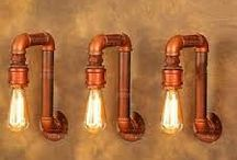 Lampy z rurek