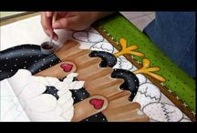 videos pintura em tecido