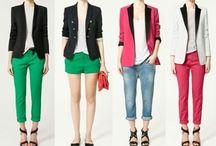 My blazer's style