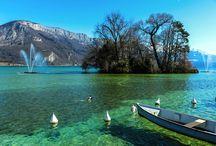 Le lac de Annecy
