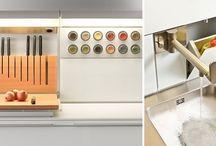 Function Box / Function Box - innowacyjne, niepowtarzalne rozwiązanie bulthaup - przechowywanie drobnych elementów na blacie roboczym