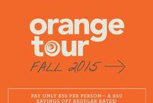 Orange Tour 2015