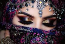 indiann makeup