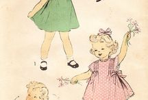 vintage patterns / by Sally Becker