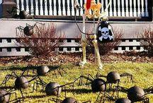 Halloween Yard Decorations (First Year Attempt)