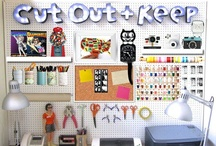 For the Home - Craft Room / Organization/decor ideas for redesigning my craft room