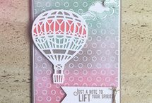 Lift me up / We all dream of hot air balloon rides.  Check out the amazing things you can create with the new stamps and dies in the 2017 Occasions Catalogue.    Don't forget the Stampin' Up! Sale-a-bration Catalogue.Its available now and you get FREE products of your choice from it with a qualifying order. In NZ?  Request a catalogue today noeline@ifeltcreative.nz or view online www.ifeltcreative.stampinup.net