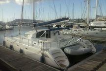 Catamaran Izaro IV / New catamaran in Nautic Ocean